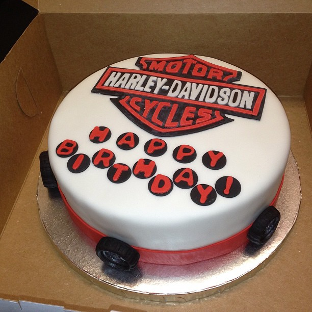 Birthday Cake Harley Davidson Chu On Cakes